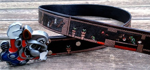 fashion nerdgasm Super Mario bros belt - 6926138112