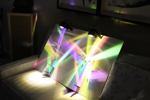 art design glass light pretty colors - 6926181632
