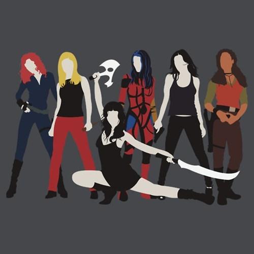 river tam T.Shirt The Avengers Black Widow whedonverse Firefly Joss Whedon dollhouse - 6926235648