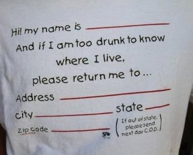 my name is drunk halp helpful tshirt - 6926320896