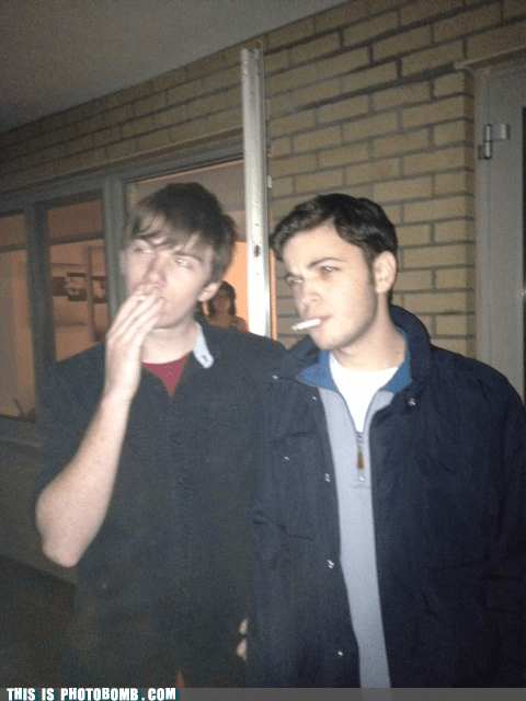 cigarette shoulder i see you - 6926511616