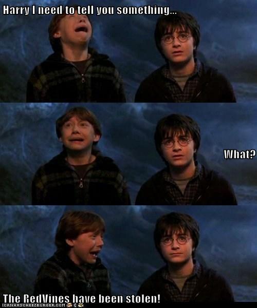 Sad Harry Potter rupert grint - 6926949376