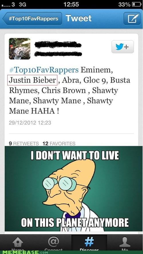 Justin Bieber is a Rapper?