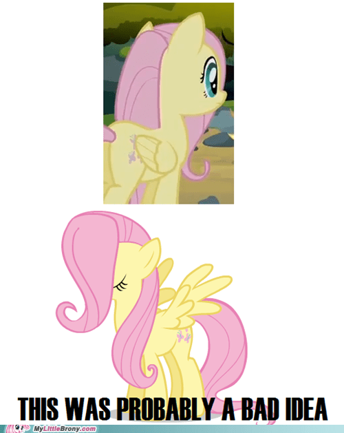 rarity look weird in one part too,bad hair,fluttershy
