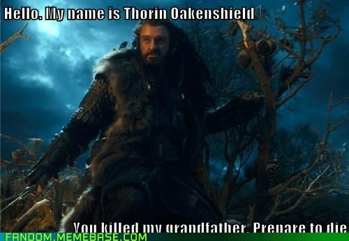 quotes crossover the princess bride movies The Hobbit