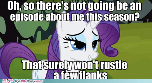 condescending rarity rustled jimmies rarity