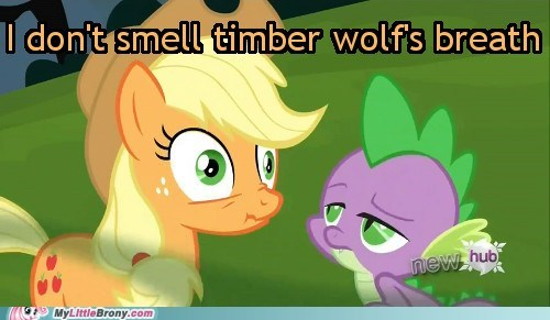 spike applejack smell feet