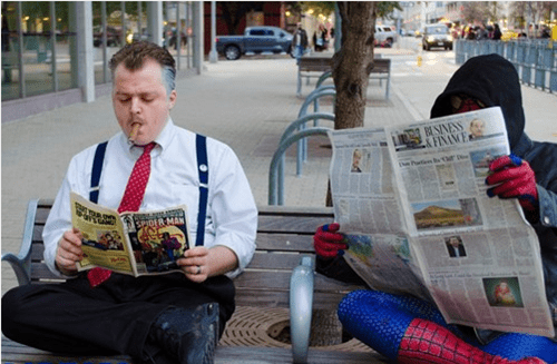 Spider-Man J Jonah Jameson costume - 6928549888