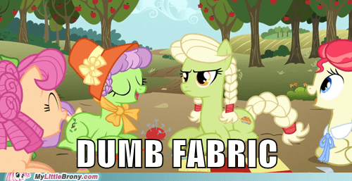 darn fabric granny smith - 6928776960