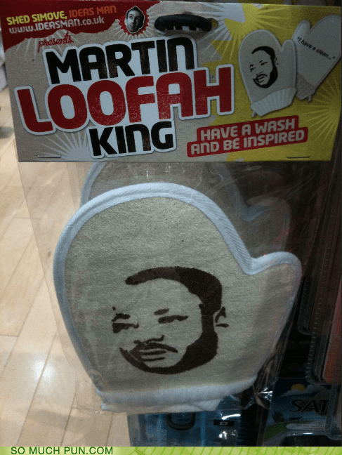loofah,similar sounding,literalism,classic,martin luther king jr