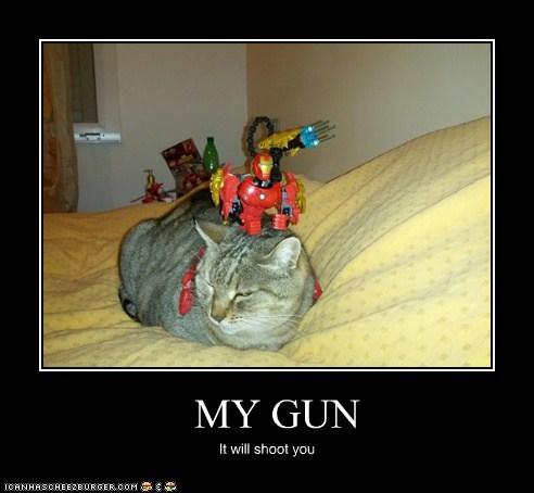 MY GUN It will shoot you