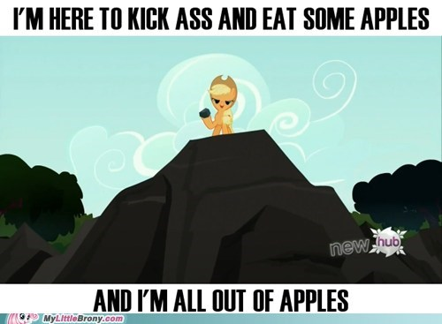 applejack,Duke Nukem,apples