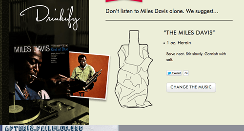 heroin,drugs,miles davis,drinkify
