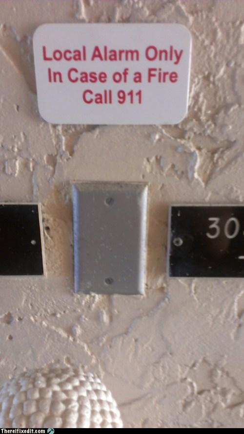 alarm emergency fire in case of fire fire alarm - 6930265344