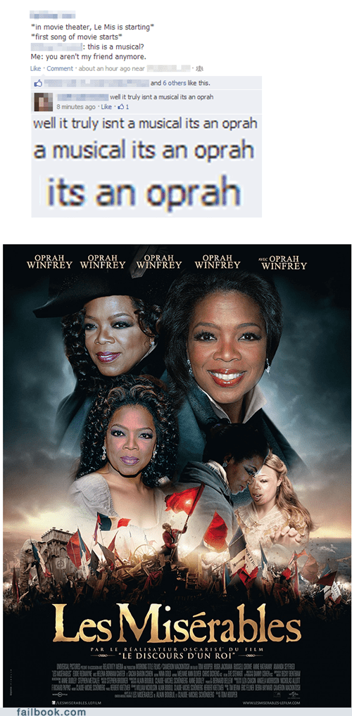 les mis opera oprah Les Misérables failbook g rated - 6930889472