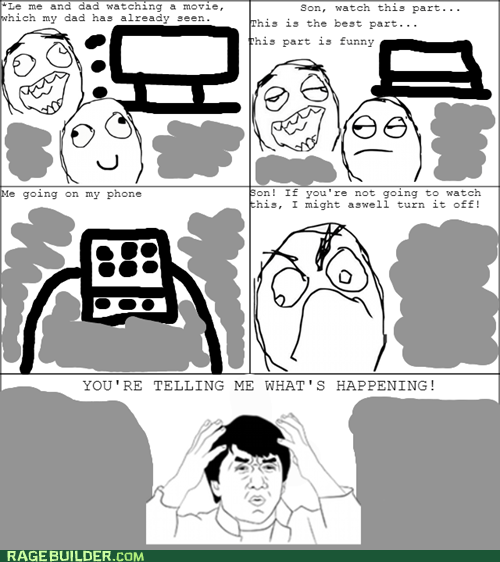 Watch A Movie With Parents