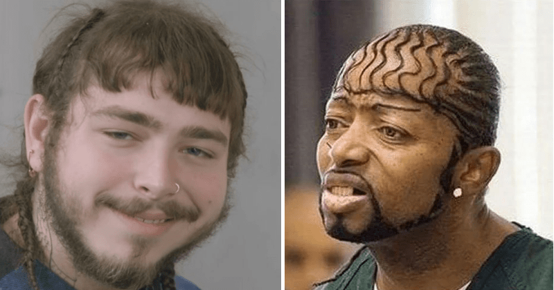 bad haircuts, post malone.