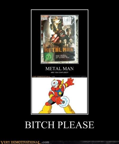 megaman,metal man,ripoff,iron man