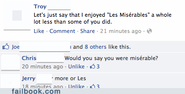 les mis miserable Movie Review movies Les Misérables