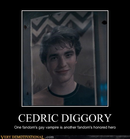 Harry Potter cedric diggory fandom twilight - 6932326400