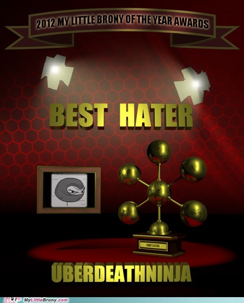 MLBrony of the year best hater mlbrony mlb awards chops-uber-s-head-off