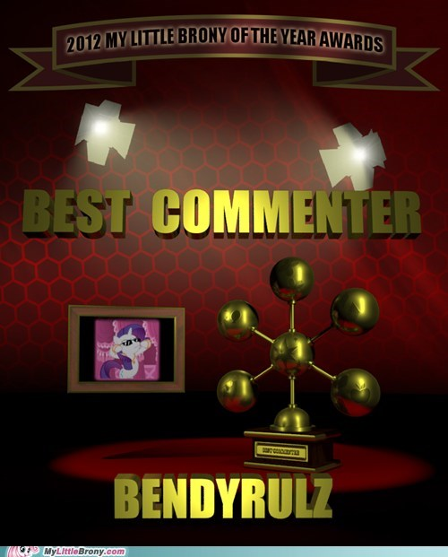 MLBrony of the year trendyrules pls mlbrony awards MLBront commenter - 6933165568
