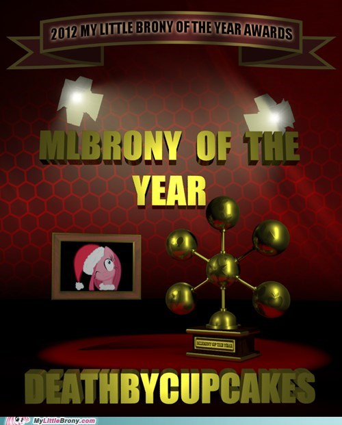 MLBrony of the year deathbycupcakes mlbrony awards mlbrony Mod's shoutout to cubonator - 6933170176