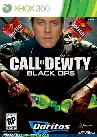 call of duty double xp mountain dew doritos - 6933457408