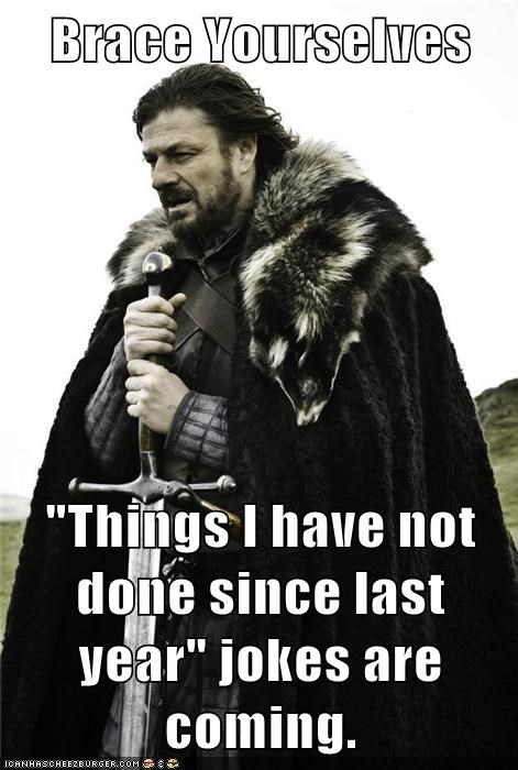 new years,brace yourself,bad jokes