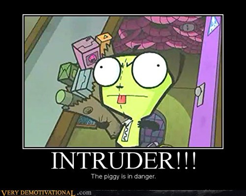 grr Invader Zim intruder - 6935047680