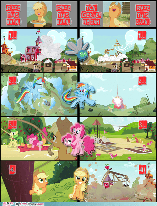 applejack,insurance,raze this barn
