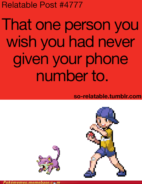 youngster joey,phone number,relatable,rattata