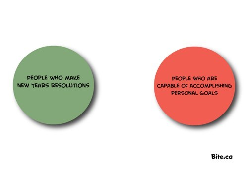new years resolution goals venn diagram