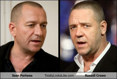 sean pertwee actor TLL Russell Crowe funny
