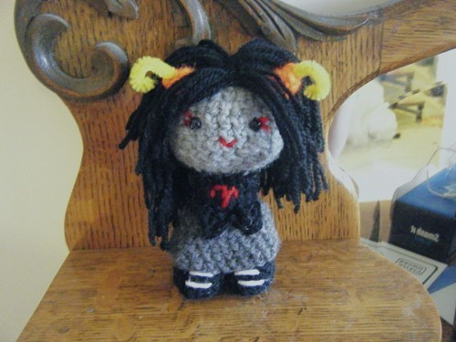 aradia,knits,homestuck,yarn,DIY,ms paint adventures