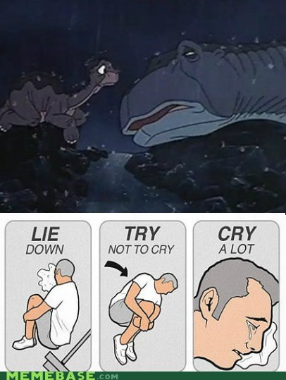 The Land Before Time,try not to cry,movies,cartoons