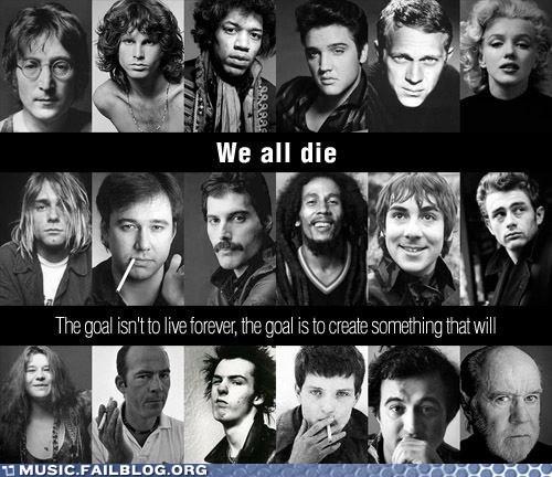 bob marley,freddie mercury,john lennon,dead celebrities