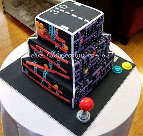 cake nerdgasm food video games - 6936632576