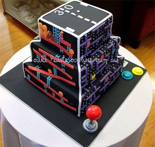 cake nerdgasm food video games - 6936632576