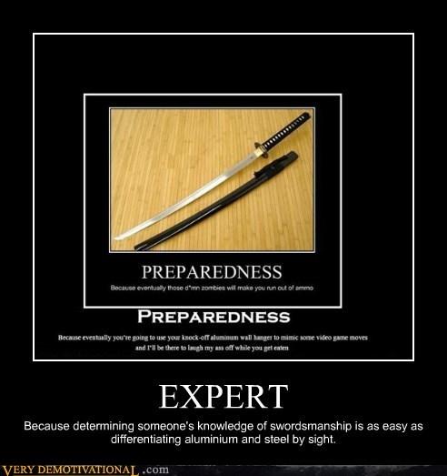 zombie expert sword idiots - 6937349376