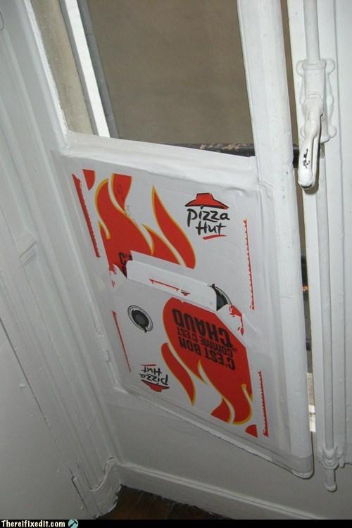 pizza hut pizza box window - 6937590528