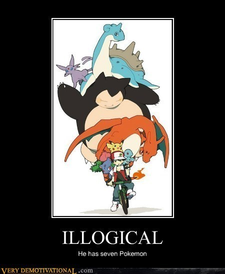 7 Pokémon illogical