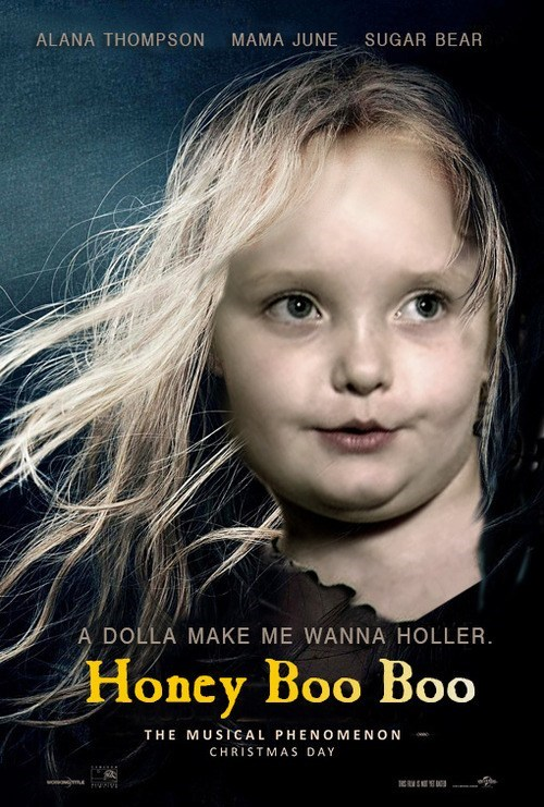 here comes honey boo boo shoop Movie TV funny Les Misérables - 6937869568