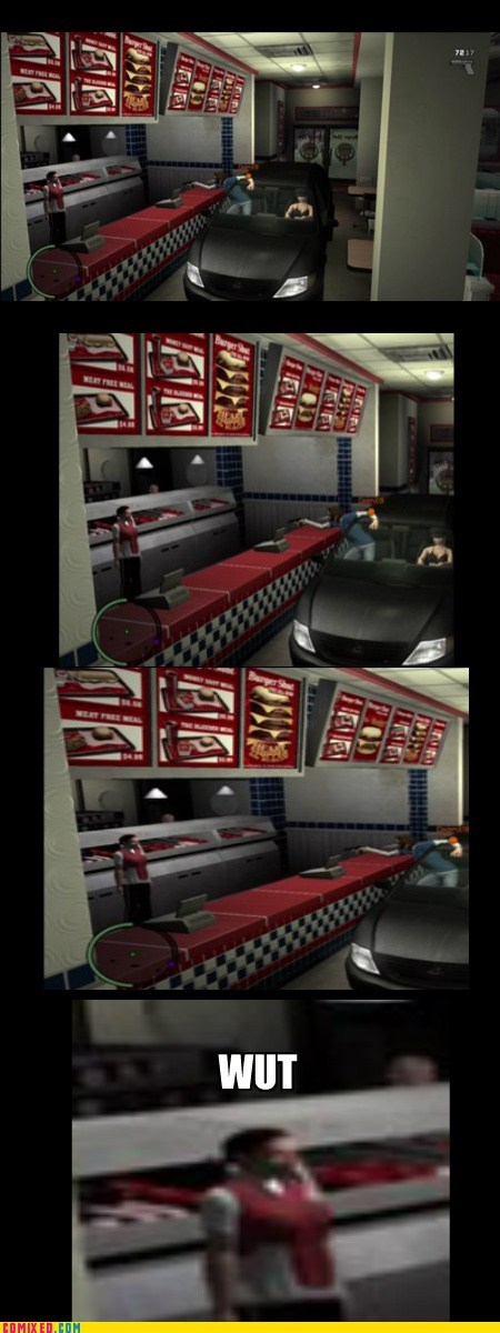 car wut drive thru video game Grand Theft Auto - 6937965824