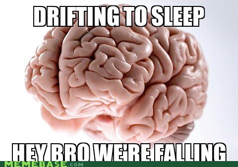 falling scumbag brain sleep - 6938139136