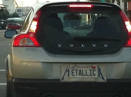 metallica license plates - 6938171392
