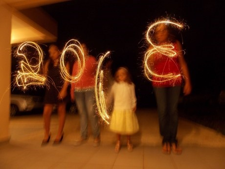 new years,light painting,2013