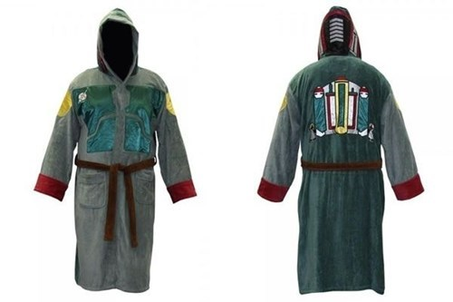 bathrobe,star wars,nerdgasm,boba fett