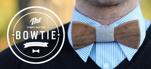 cool fashion nerdy wood bowties - 6938401792