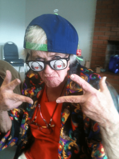 granny sunglasses gangstas - 6938414080